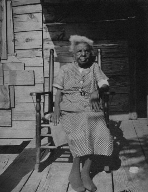 A formerly enslaved woman who was interviewed by the WPA in the 1930s. (Via Library of Congress)