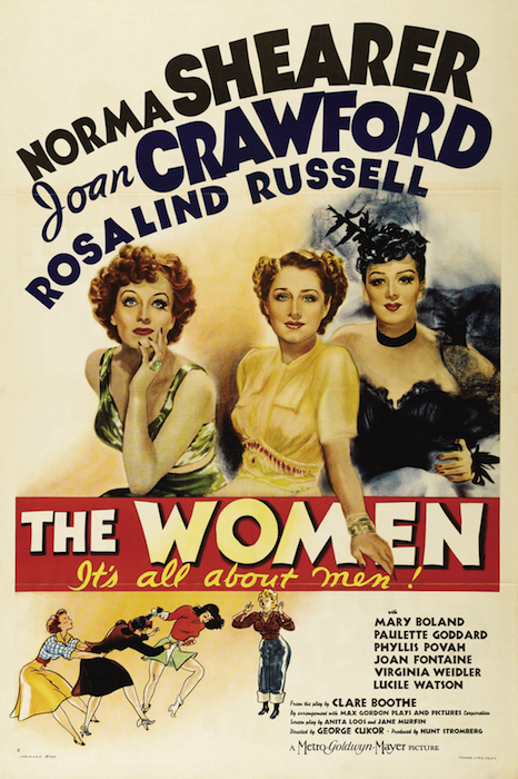 "George Cukor's ""The Women"" from 1939 was based on screenwriter Clare Boothe Luce's own Reno divorce in 1929."
