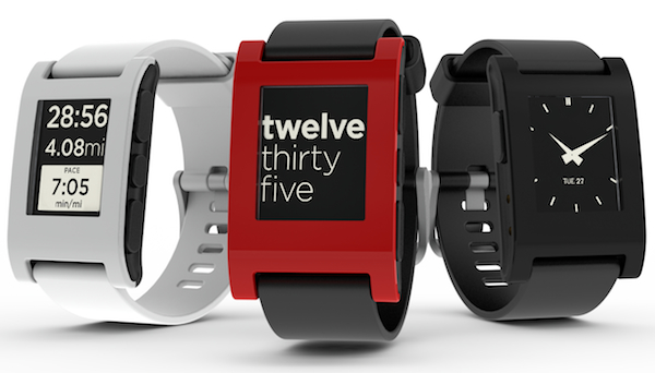 The Pebble smartwatch, which raised $10 million on Kickstarter, is primarily a connected alerts device.