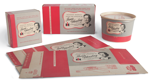 A sample of some of the packaging IH sold its refrigerator customers, to help them make the transition from canning and picking to freezing.