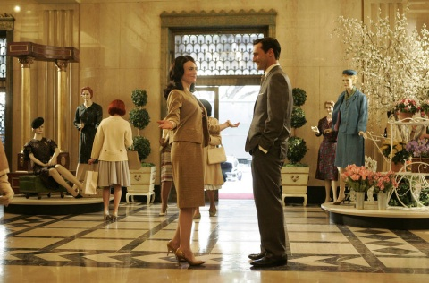 "In Season 1 of ""Mad Men,"" Don Draper tells Rachel Mencken that the fictional New York department store her father founded needs a modern upgrade for 1960."