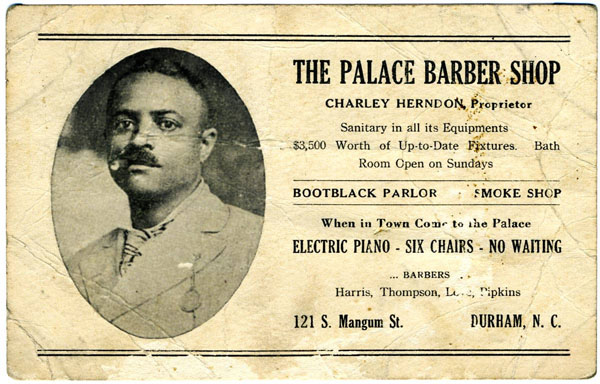 Barber Shop Durham Nc : ... , which served the local black community in Durham, North Carolina