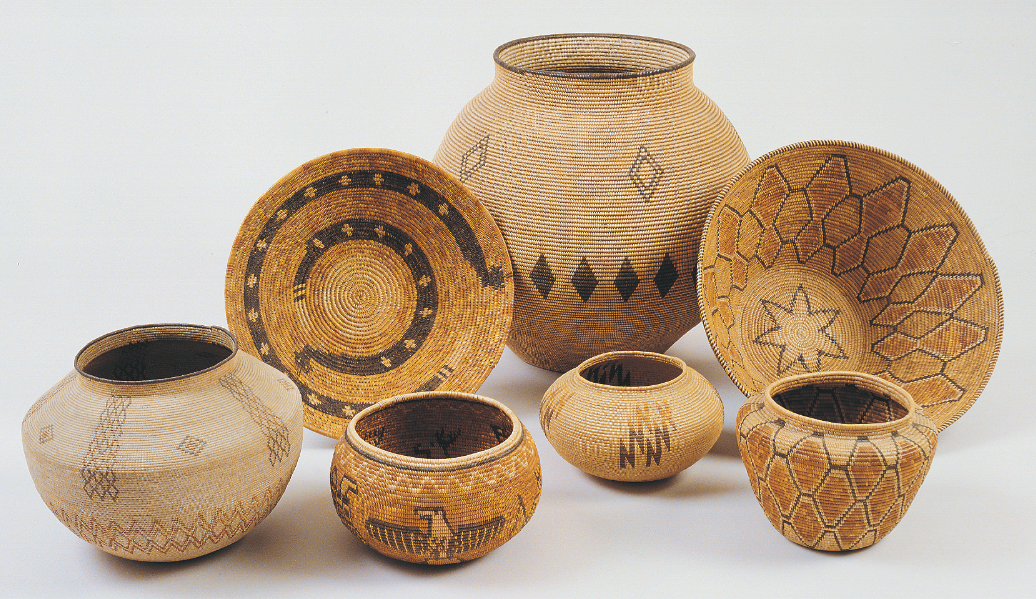 Basketry In Art : How railroad tourism created the craze for traditional