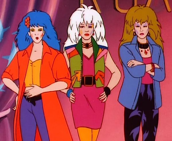 1980 S Cartoon Characters : Jem the truly outrageous triple platinum s rocker who