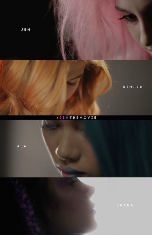 """A moody teaser for the upcoming """"Jem"""" movie released by Hasbro Studios."""