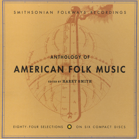 "Harry Smith's ""Anthology of American Folk Music""  is now available on CD through the Smithsonian's Folkways Recordings. The art and liner notes reflect Smith's interest in mysticism and metaphysics."