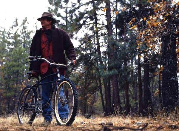 Some people call Gary Fisher the father of the mountain bike, but it may have been this guy, Russ Mahon, seen here in a photo from 2006 by Stephen Wilde.