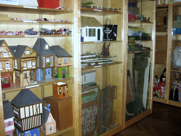 Items from Huguette Clark's collections, stored in one of her two apartments in 907 Fifth Avenue. (Via the estate of Huguette Clark from EmptyMansionsBook.com)