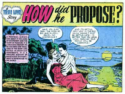 Ruth Atkinson also drew romance comics after the end of the war. (Via Lambiek Comiclopedia)