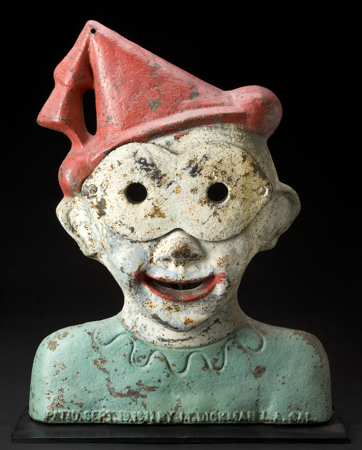 Great Clown (Bright Eye), manufactured by John T. Dickman.