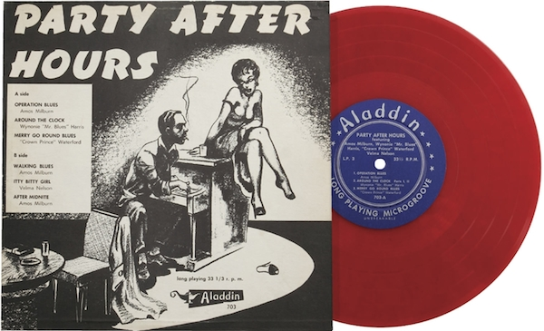 Mantique-edit_Party After Hours 10 in. Mono LP Aladdin 703 Red Vinyl