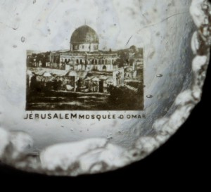 A souvenir Stanhope from Jerusalem. Photographed by Sol Legault. Courtesy of The Kinsey Institute for Research in Sex, Gender, and Reproduction.