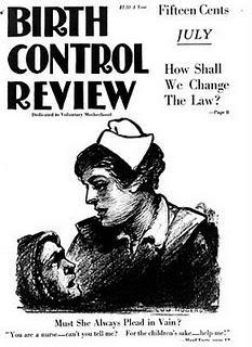 "Margaret Sanger's ""Birth Control Review"" magazine from 1919. (Via WikiCommons)"