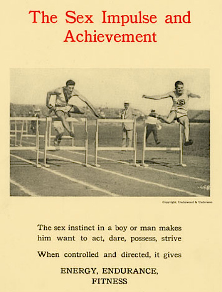 "This 1922 ASHA physical-education poster echoes the sentiments of ""The Science of Life."" (Courtesy of Social Welfare History Archives, University of Minnesota Libraries)"