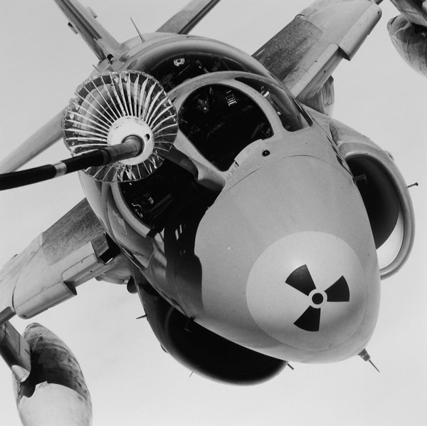 Grumman A-6A radiation symbol