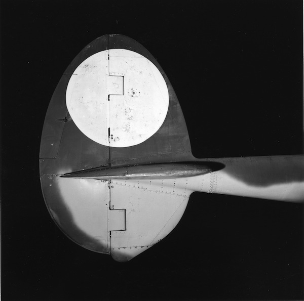 P-38 vertical stabilizer
