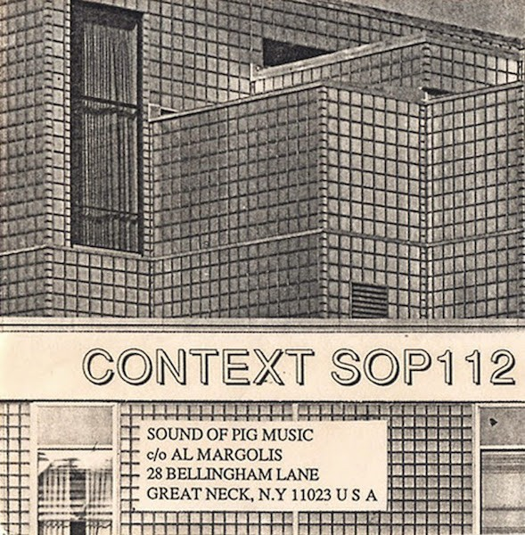 An industrial album by Context, or Stefan Schwab, released by Sound of Pig in 1987. (Via Wet Dreams)