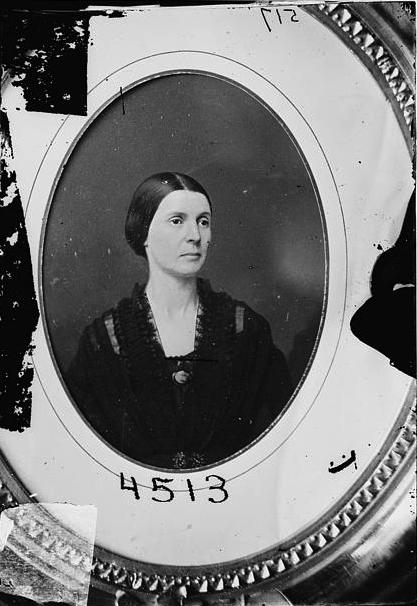 Rose O'Neal Greenhow, circa 1855-1865. (Via Library of Congress)