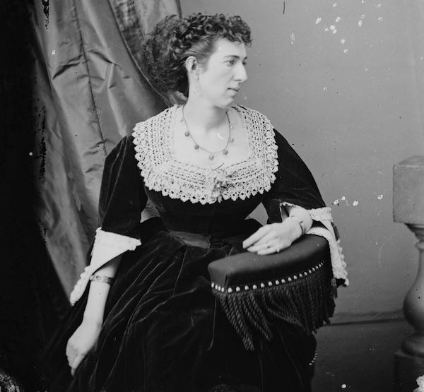Belle Boyd, circa 1860-1865. (Via Library of Congress)