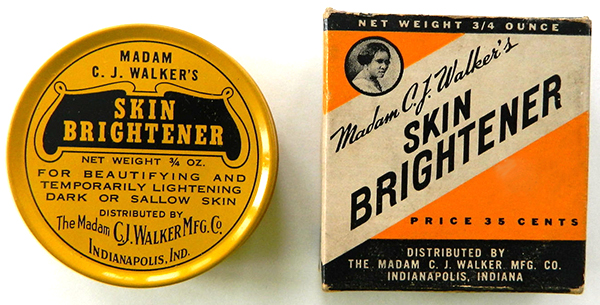 "Madam Walker's company delved into products like this ""skin brightener"" to stay afloat in the 1930s. Image via eBay."
