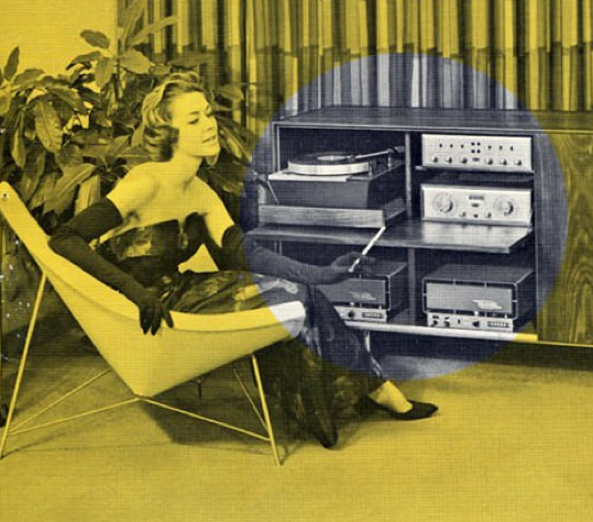 "A detail from an ad for H.H. Scott from the early 1960s. Via <a href=""http://vintagevacuumaudio.com/"">Vintage Vacuum Audio</a>"