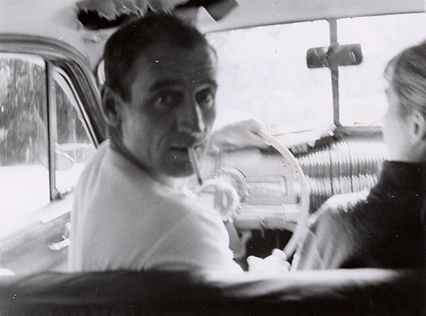 Neal Cassady, seen here in a photo by poet Allen Ginsberg, was the prototype for the hero in On the Road by Jack Kerouac. Both Cassady and Ginsberg were participants in the Acid Tests.