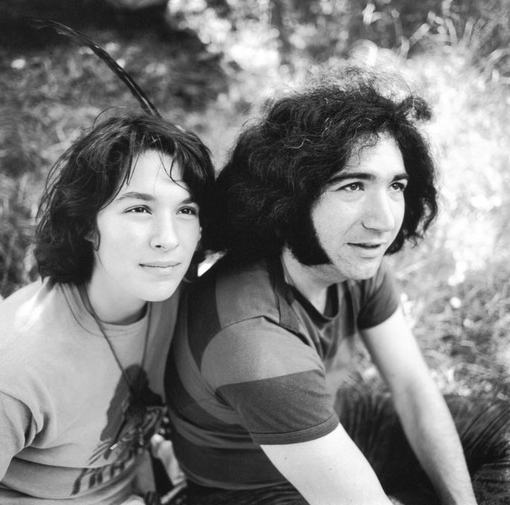Mountain Girl and Jerry Garcia, 1966. Via paloaltohistory.org.