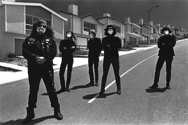 This photo of the Grateful Dead taken by Bob Seidemann became a head-shop poster in 1967.