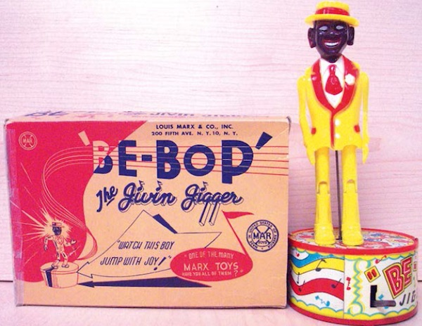 "The ""Be-Bop"" toy from the 1950s. (From ""Understanding Jim Crow"")"