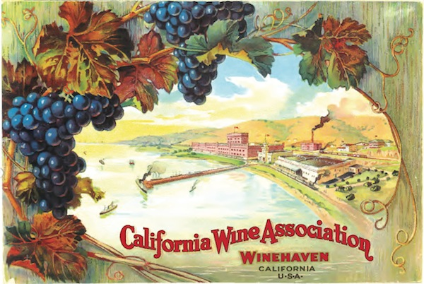 This colorful postcard of Winehaven seems to promise happier, more prosperous times after the trauma of the 1906 earthquake and the fires that followed. (Courtesy Gail Unzelman)