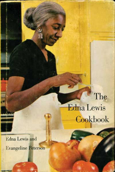 "In 1983's ""The Edna Lewis Cookbook,"" Lewis' elegant recipes, arranged by season, reflect life on a Virginia farm. (From ""The Jemima Code"")"
