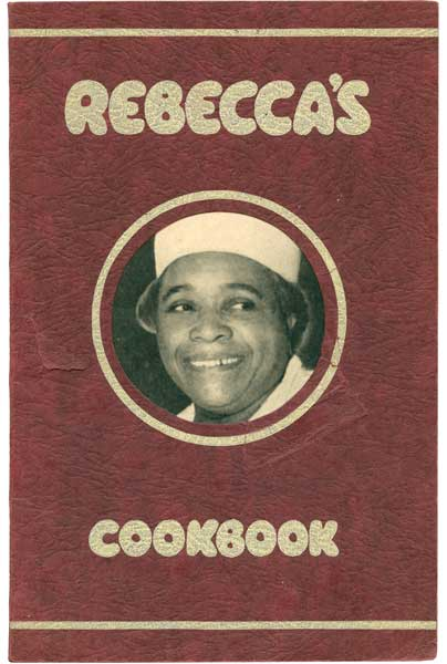 "Rebecca West was the first real-life black servant to have her own cooking column in ""The Washington Times-Herald"" in the 1940s. (From ""The Jemima Code"")"