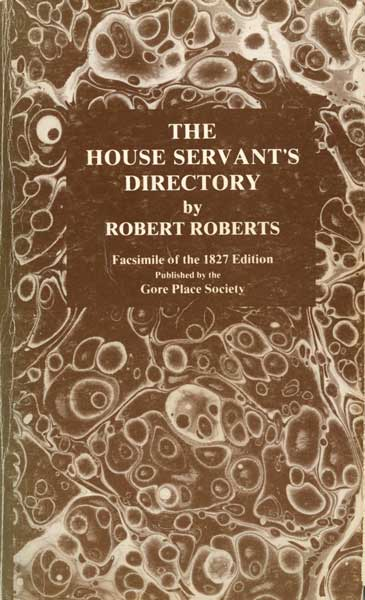"Head butler Robert Roberts produced the first book by an African American containing recipes in 1827, ""The House Servant's Directory."" (From ""The Jemima Code"")"