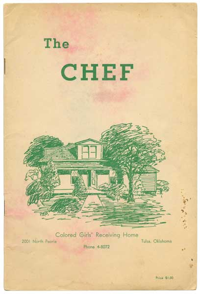"In Tulsa, Oklahoma, the site of one of the deadliest race riots in U.S. history, the City Federation of Colored Women's Clubs produced ""The Chef,"" a 1944 community cookbook with more than 200 recipes, to benefit their safe haven for black girls. (From ""The Jemima Code"")"