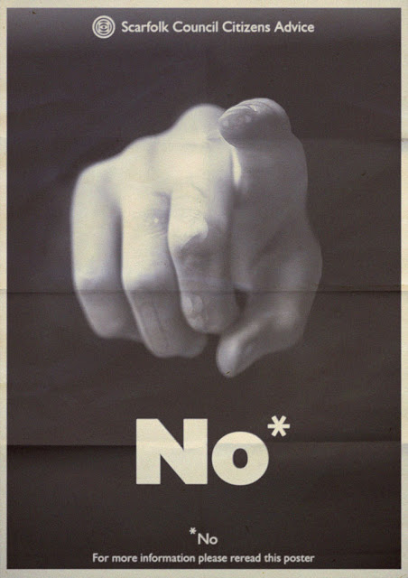 This ominous poster captures the ethos of Scarfolk in a single word.