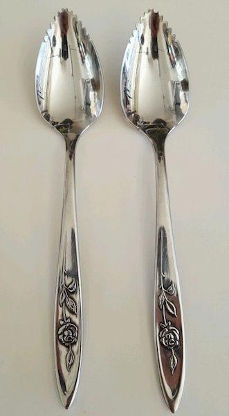 oneida_silverware_stainless_myrose_ebay
