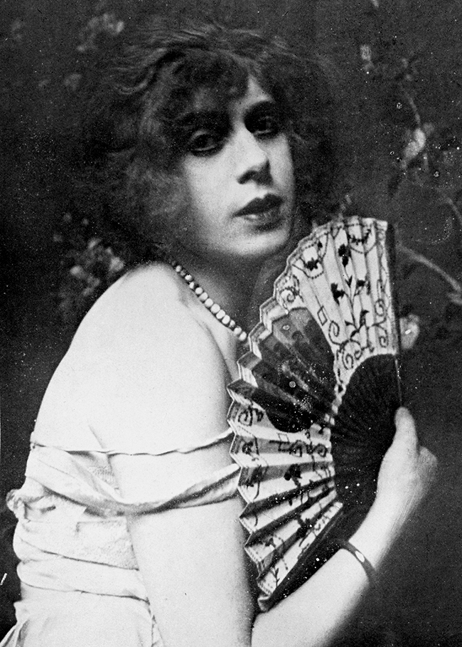 Danish artist Lili Elbe, pictured here in 1926, underwent one of the earliest gender reassignment operations in 1931.