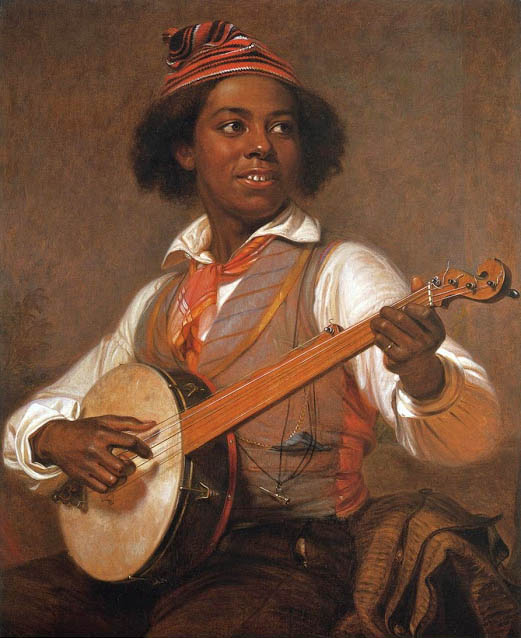 The Banjo Player 1856