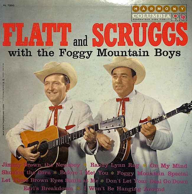 A Flatt and Scruggs album from 1960. Earl Scruggs played so fast, it was even tough for Pete Seeger to figure out.