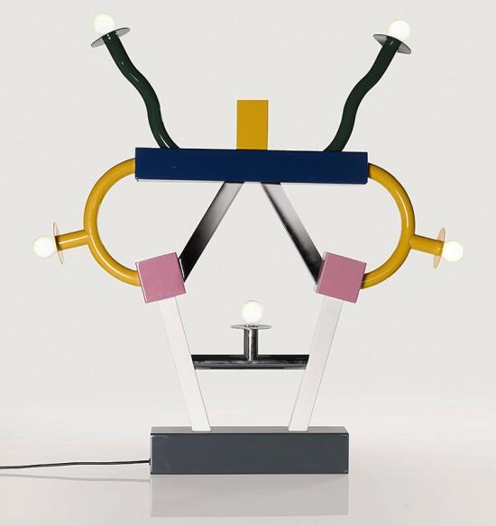 Ettore Sottsass, 'Ashoka' Lamp (1981)