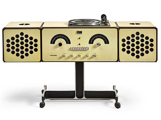 Brionvega Radio-phonograph, model no. RR 126, by Pier Giacomo and Achille Castiglioni, 1966.