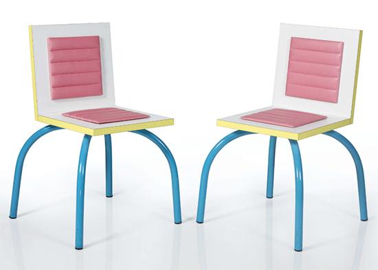 Nichele de Lucchi %22Riviera%22 chairs, 1981 white