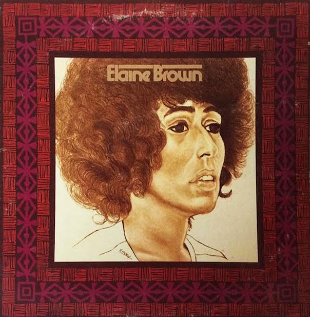Activist Elaine Brown, also a singer, released her second socially conscious funk/soul album in 1973. From '74 to '77, she was the first female leader of the Black Panthers. (Via eBay)