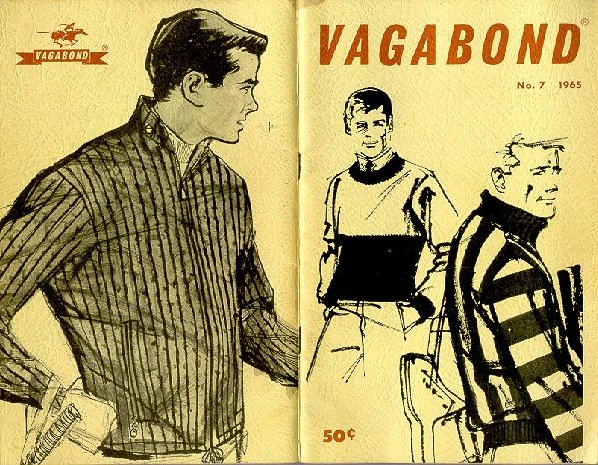 The cover of Vagabond magazine No. 7 from 1965.