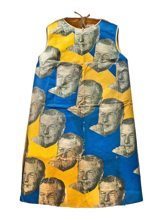 A Nelson Rockefeller dress made for the 1968 Republican convention.