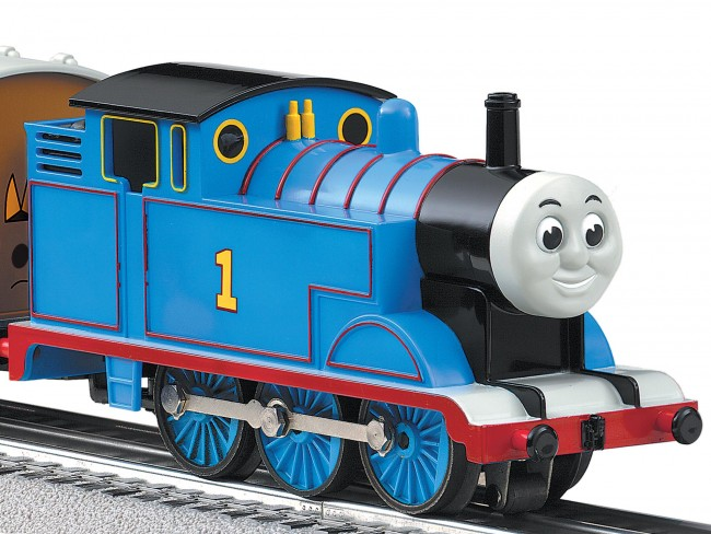 "In recent years, Lionel has combined nostalgia with branding to selling its products to kids, as seen in this ""Thomas & Friends"" locomotive."