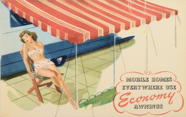 American Dream Circa 1960 >> Home in a Can: When Trailers Offered a Compact Version of ...