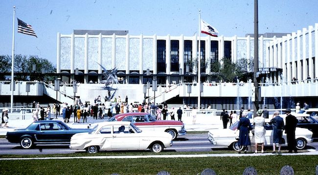 As a young architect in Los Angeles, Charlatans co-founder George Hunter made presentation models for the Los Angeles County Museum of Art, which opened in 1965. Photo by George Garrigues via Wikimedia Commons.