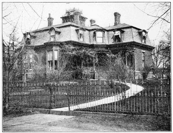 The original Brooklyn Children's Museum, pictured in 1908, was located in a former mansion. (Via WikiCommons)