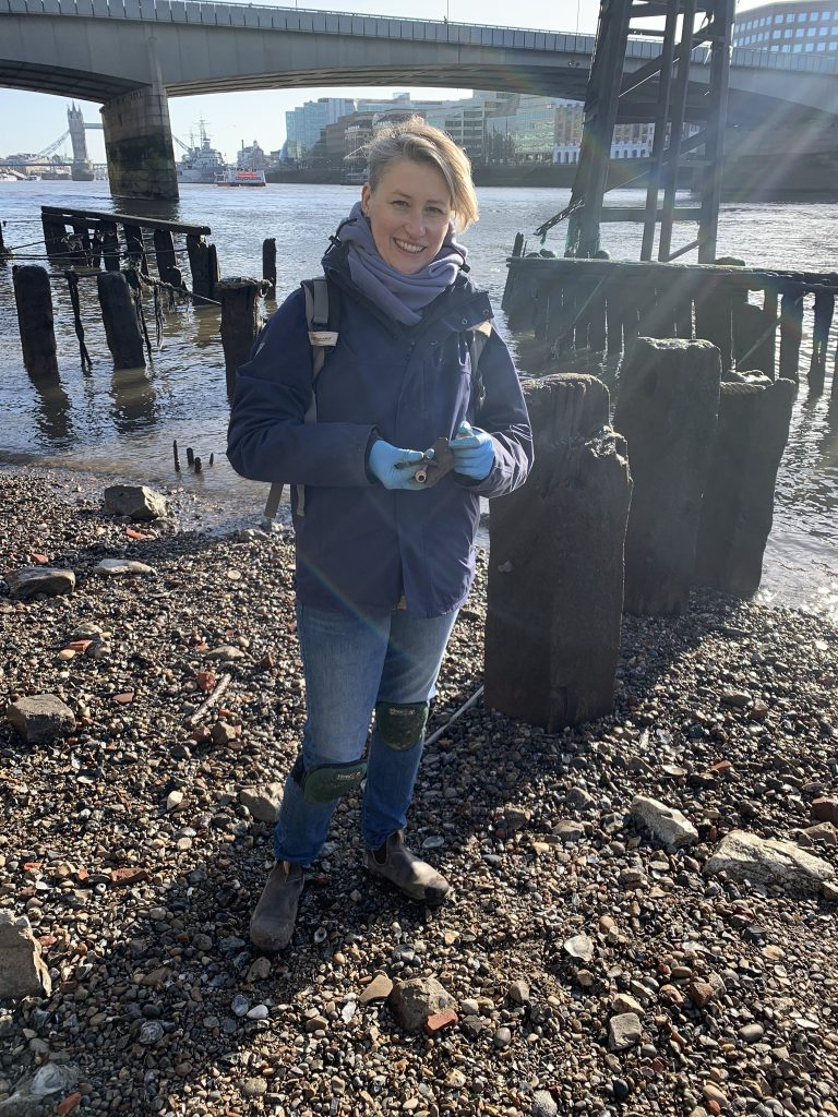 Lost and Found: Mudlarking the Thames for Relics of Long-Ago Londoners